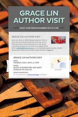 Grace Lin Author Visit