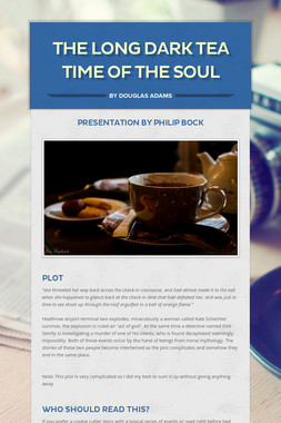 The Long Dark Tea Time of the Soul