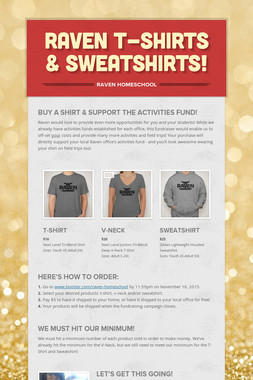 Raven T-Shirts & Sweatshirts!