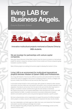 living LAB for Business Angels.