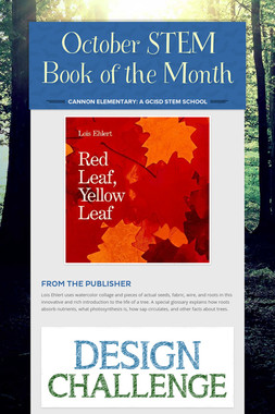 October STEM Book of the Month