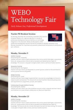WEBO Technology Fair