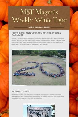MST Magnet's Weekly White Tiger