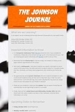 The Johnson Journal