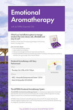 Emotional Aromatherapy