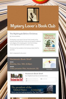 Mystery Lover's Book Club