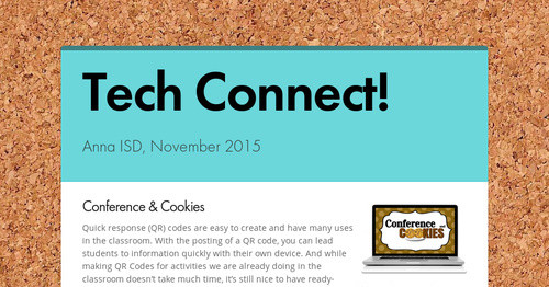 Tech Connect! | Smore Newsletters