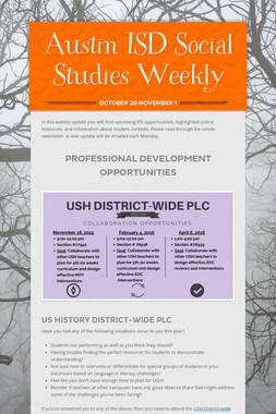 Austin ISD Social Studies Weekly