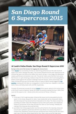 San Diego Round 6 Supercross 2015