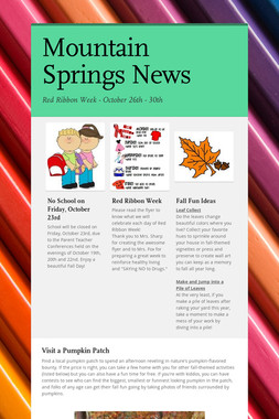 Mountain Springs News