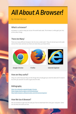 All About A Browser!