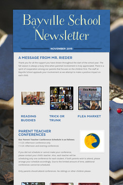 Bayville School Newsletter