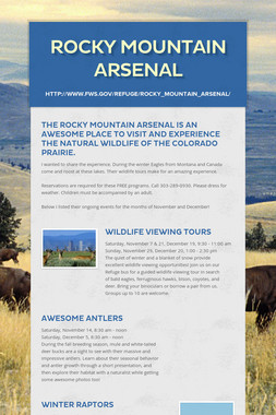 Rocky Mountain Arsenal