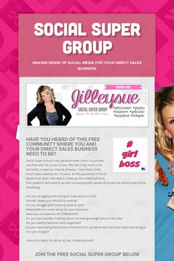 Social Super Group