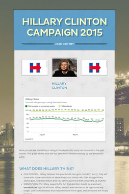 Hillary Clinton Campaign 2015