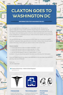 Claxton Goes to Washington DC
