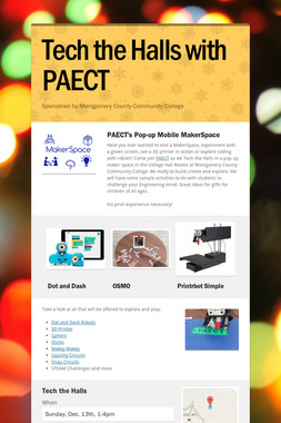 Tech the Halls with PAECT