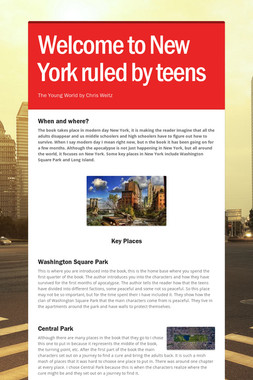 Welcome to New York ruled by teens