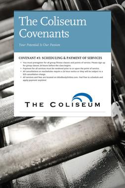 The Coliseum Covenants