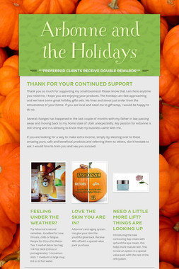 Arbonne and the Holidays