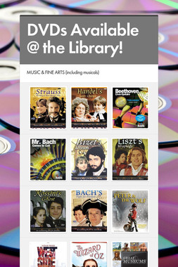 DVDs Available @ the Library!