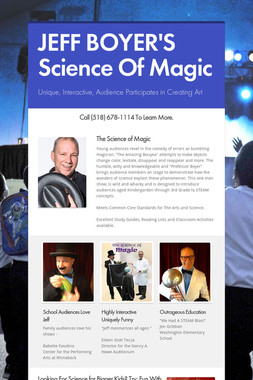 JEFF BOYER'S Science Of Magic