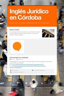 Inglés Jurídico en Córdoba