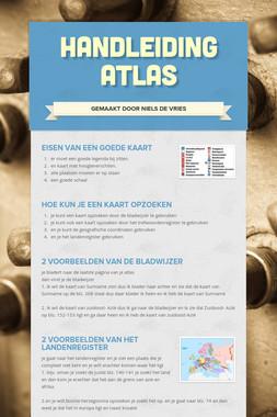 handleiding  atlas