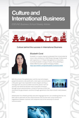Culture and International Business