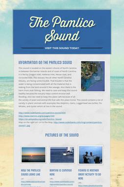 The Pamlico Sound
