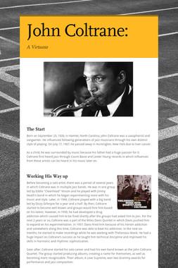 John Coltrane: