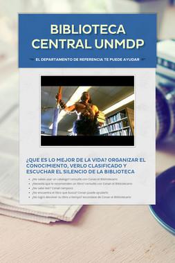 Biblioteca Central UNMDP