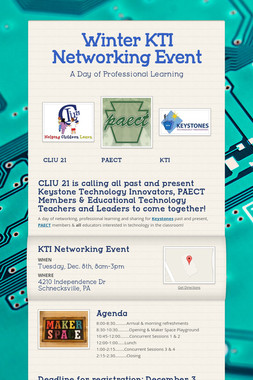 Winter KTI Networking Event