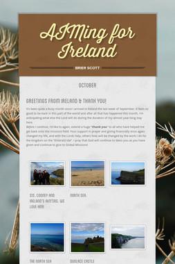 AIMing for Ireland