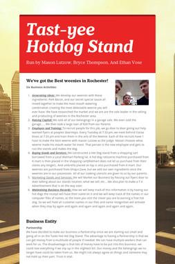 Tast-yee Hotdog Stand