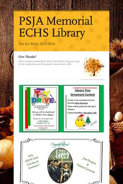 PSJA Memorial ECHS Library