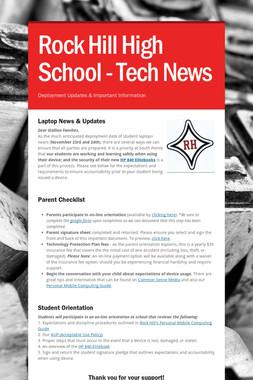 Rock Hill High School - Tech News