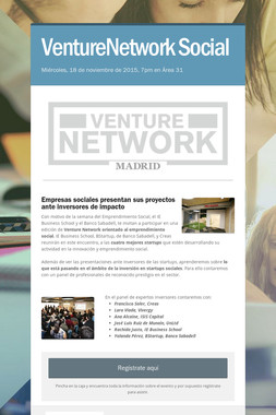 VentureNetwork Social