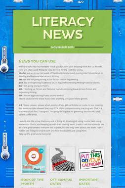 Literacy News