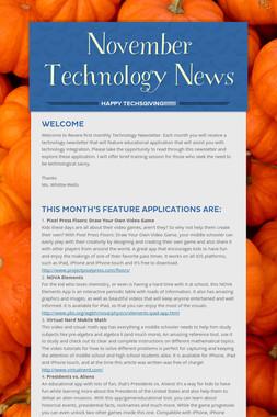 November Technology News