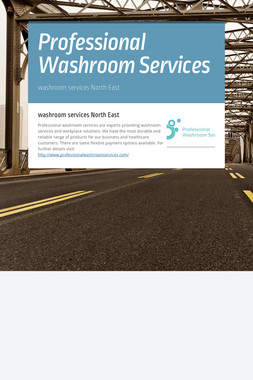 Professional Washroom Services