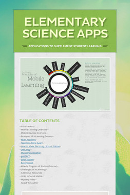Elementary Science Apps