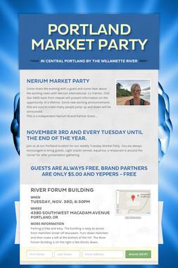 Portland Market Party