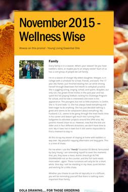 November 2015 - Wellness Wise