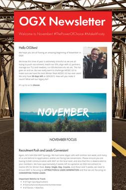 OGX Newsletter