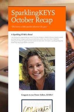 SparklingKEYS October Recap