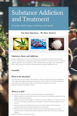Substance Addiction and Treatment