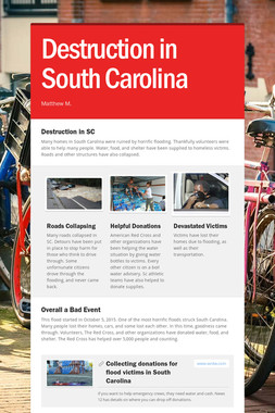 Destruction in South Carolina