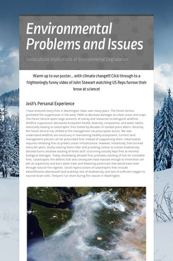 Environmental Problems and Issues