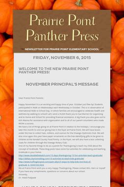 Prairie Point Panther Press